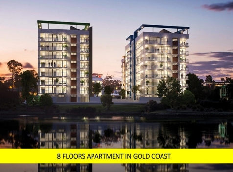 8 Floors Apartment in Gold Coast