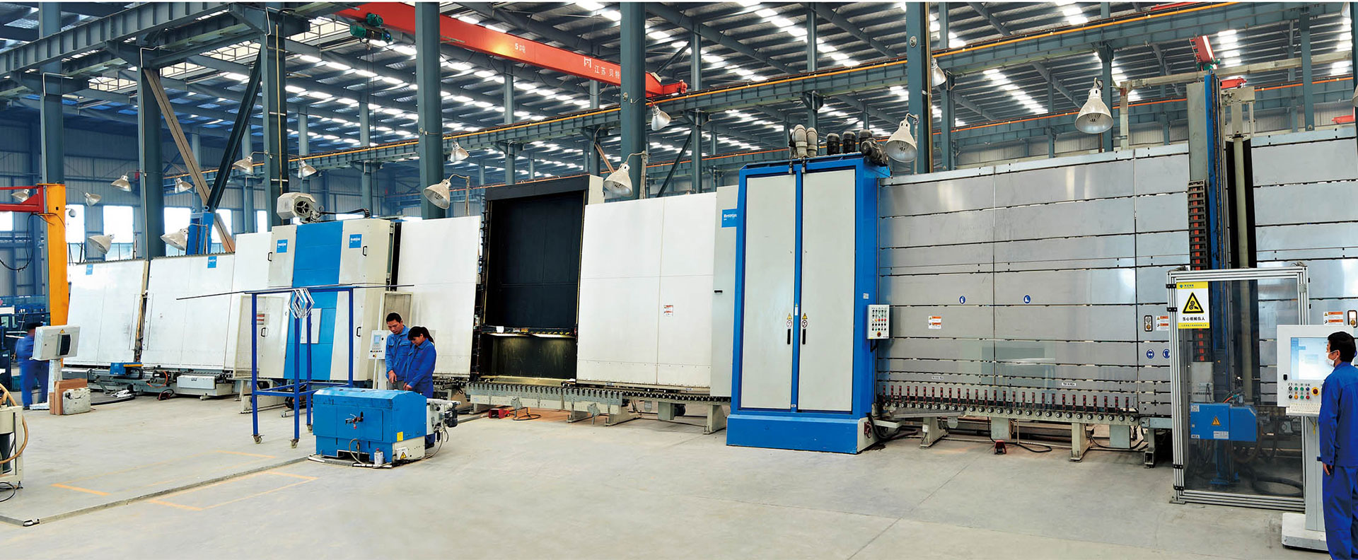Bystronice Fully Automatic Insulation Line